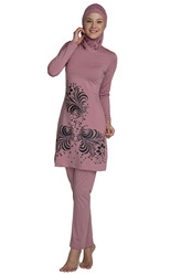 Буркини темно-розовый